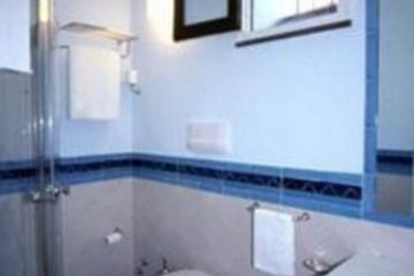 Hotel Centrale: Badezimmer AMALFI KUSTE