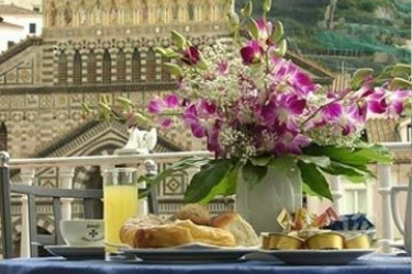 Hotel Centrale: Frühstück AMALFI KUSTE