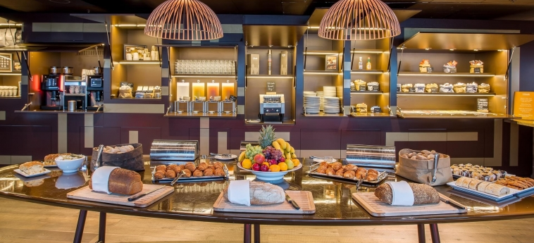 Hotel Room Mate Aitana: Sala de Desayuno AMSTERDAM