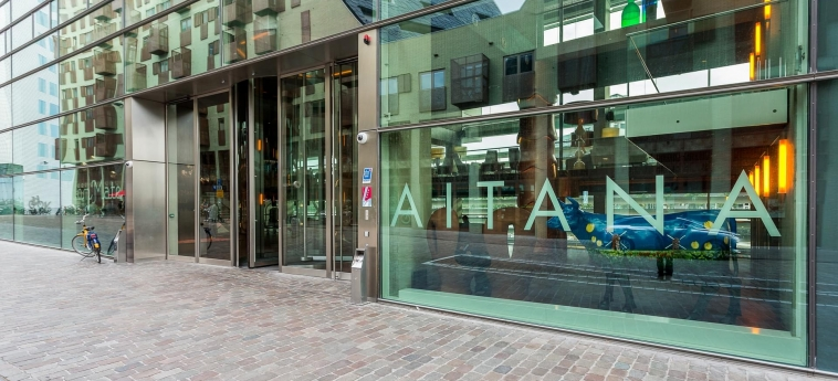 Hotel Room Mate Aitana: Eingang AMSTERDAM