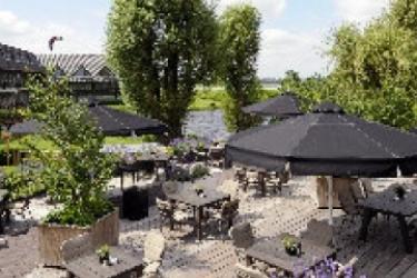Van Der Valk Hotel Volendam: Terrasse AMSTERDAM