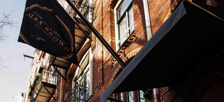Hotel Max Brown Museum Square: Facade AMSTERDAM