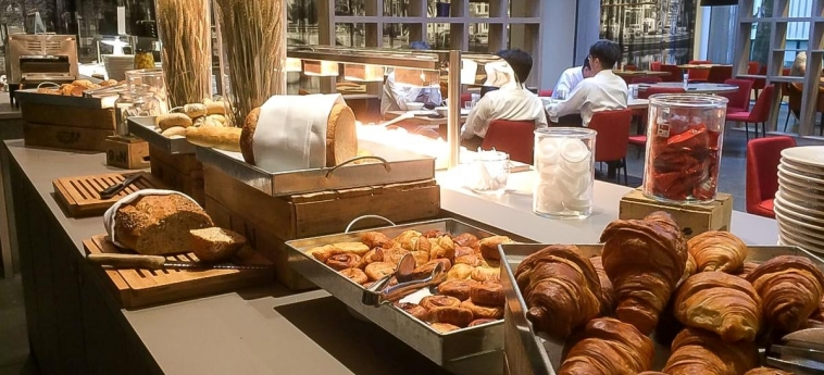 Hotel Ramada Amsterdam Airport Schiphol: Sala de Desayuno AMSTERDAM