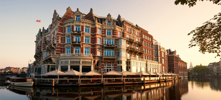 Hotel De L'europe Amsterdam: Exterior AMSTERDAM