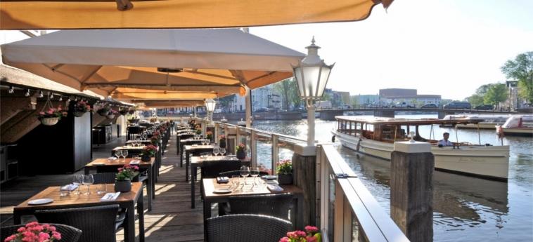 Hotel De L'europe Amsterdam: Terraza AMSTERDAM