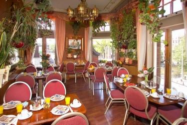 Hotel Nadia: Frühstücksraum AMSTERDAM