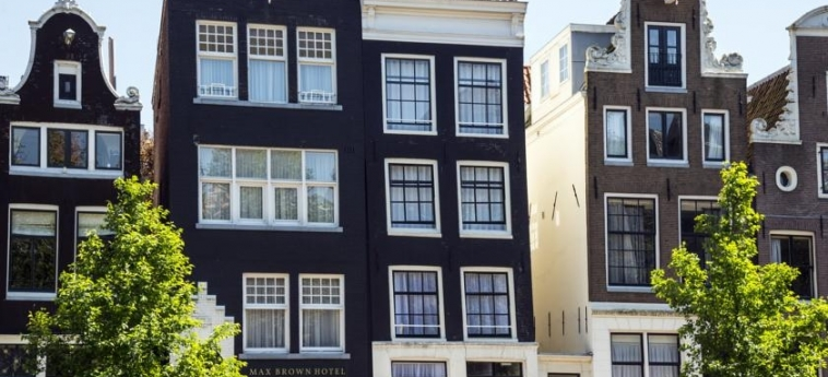 Max Brown Hotel Canal District: Exterieur AMSTERDAM
