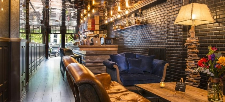 Max Brown Hotel Canal District: Indoor Bar AMSTERDAM