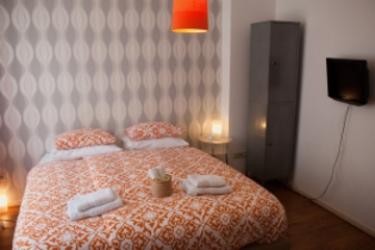 Hotel A Bed & Breakfast Flynt: Camera Matrimoniale Club AMSTERDAM