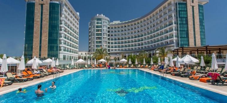 Hotel Sherwood Exclusive Lara: Piscine chauffée ANTALYA