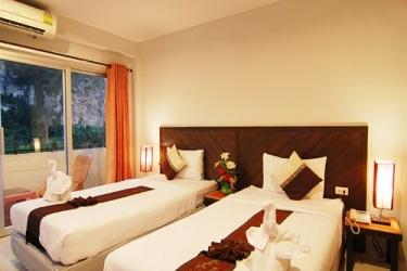 Hotel Ascot Krabi: Chanbre AO NANG