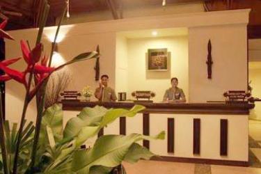 Hotel La Playa Resort: Empfang AO NANG