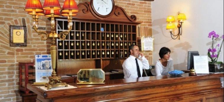 Hotel Arbatasar: Reception ARBATAX - OGLIASTRA