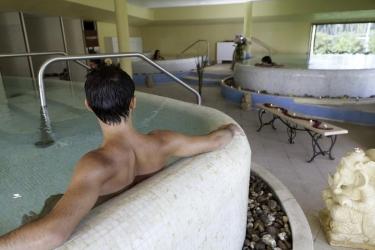 Hotel Horse Country Resort Congress & Spa: Piscina Coperta ARBOREA - ORISTANO