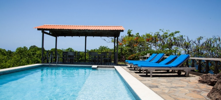 Hotel Grand View Beach: Außenschwimmbad ARNOS VALE