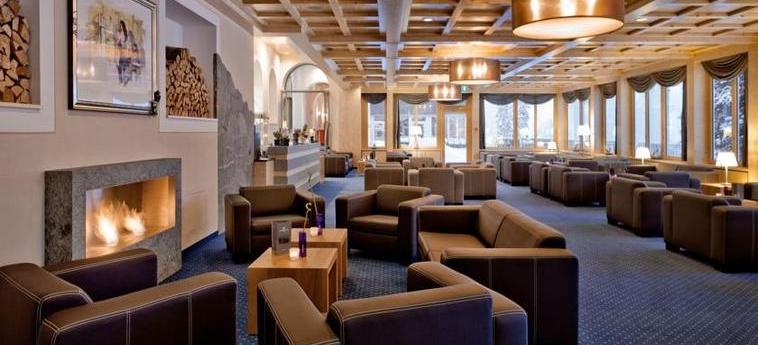 Waldhotel National: Lounge AROSA