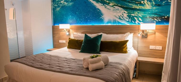 Hotel Perle D'or: Area para fiesta de cumpleaños ARUBA