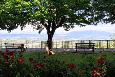 Hotel Relais La Corte Di Bettona: Jardín ASIS - PERUGIA