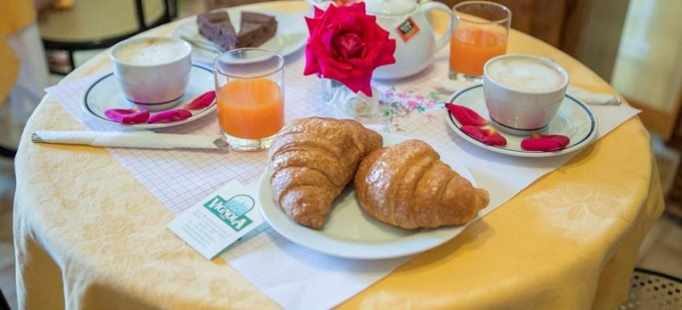 Hotel Vignola: Petit Déjeuner ASSISE - PERUGIA