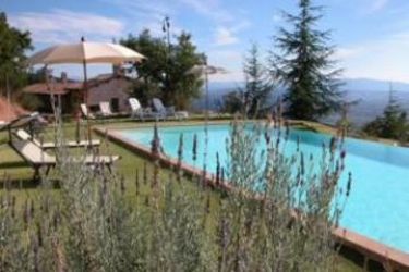Hotel Le Mandrie Di San Paolo: Außenschwimmbad ASSISI - PERUGIA
