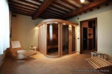 Hotel Le Mandrie Di San Paolo: Pinienwald ASSISI - PERUGIA