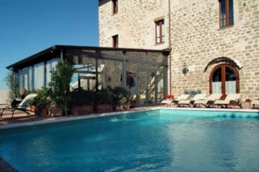 Hotel Relais La Corte Di Bettona: Außenschwimmbad ASSISI - PERUGIA