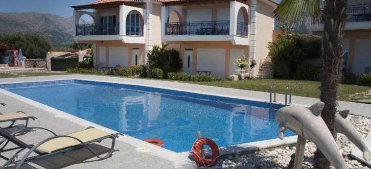 Hotel Thesmos Village: Terraza ASTACO - XIROMERO