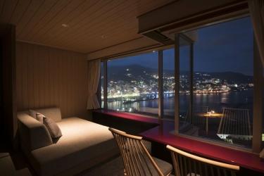 Hotel Atami Korakuen : Vista della stanza degli ospiti ATAMI - PREFETTURA DI SHIZUOKA