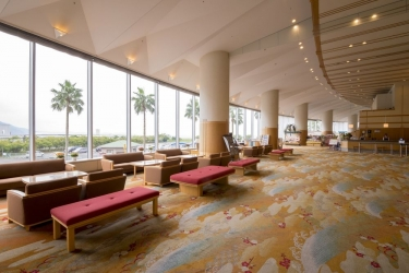 Hotel Atami Korakuen : Lobby ATAMI - SHIZUOKA PREFECTURE