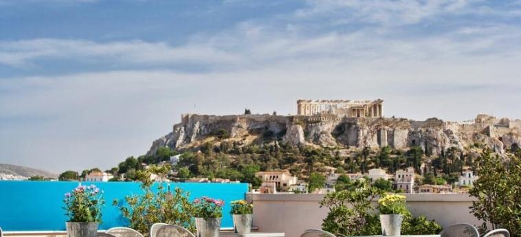 Hotel Arion Athens: Terraza ATENAS