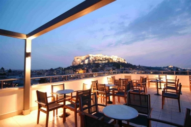 Central Athens Hotel: Extérieur ATHENES