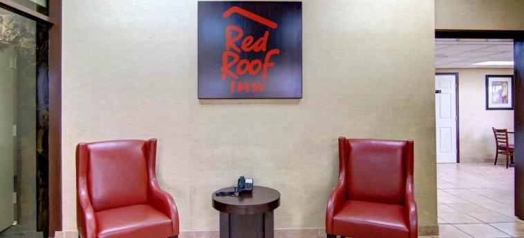 Red Roof Inn Atlanta Six Flags 793 Hotel: Hall d'entrée ATLANTA (GA)