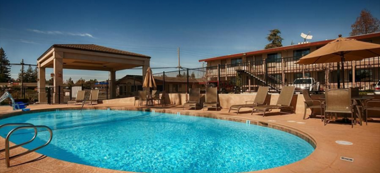 Hotel Best Western Golden Key: Piscina AUBURN (CA)