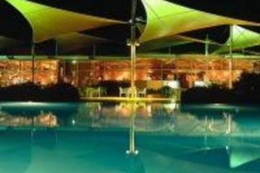 Voyages Ayers Rock Outback Pioneer Hotel: Outdoor Swimmingpool AYERS ROCK - NORTH TERRITORY