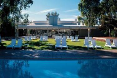 Hotel Desert Gardens: Außen AYERS ROCK - NORTH TERRITORY