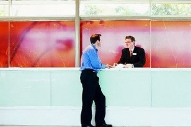 Hotel Desert Gardens: Lobby AYERS ROCK - NORTH TERRITORY