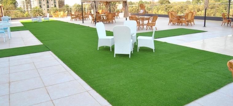 Hotel Grand Resort & Spa- Bahir Dar: Terrazza BAHAR DAR