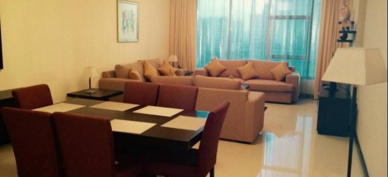 Hotel Tulip Inn Bahrain Suites And Residences: Living Room BAHRAIN