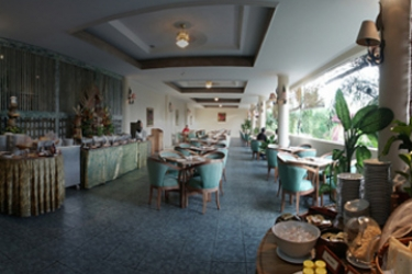 Hotel White Rose: Restaurant BALI