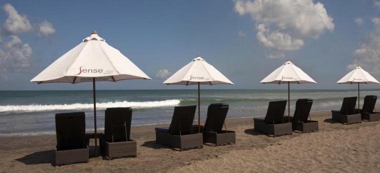 Sense Hotel Seminyak: Beach BALI