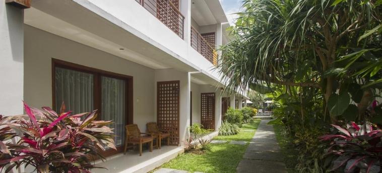 Hotel Pertiwi Bisma 2: Balcony BALI