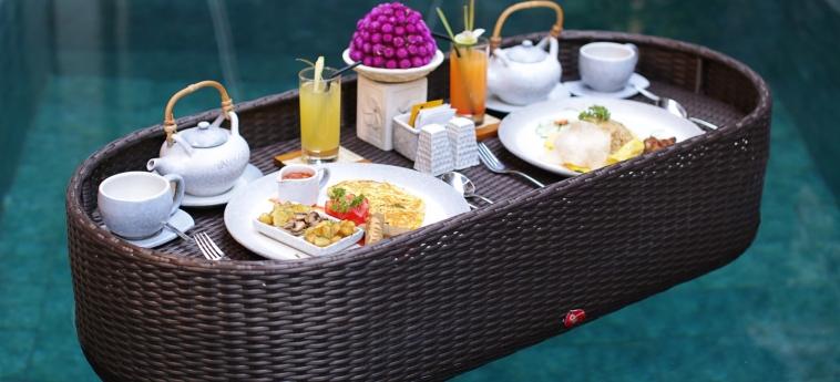 Hotel Ini Vie Villa: Petit Déjeuner BALI