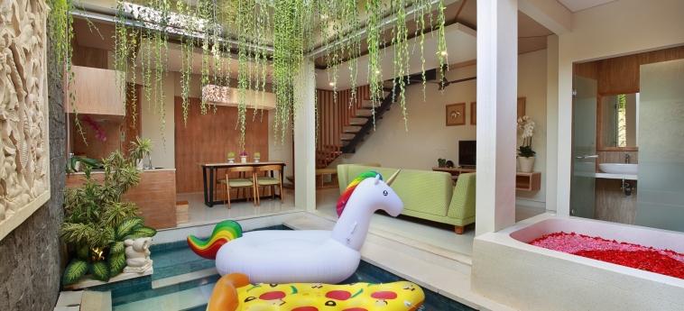 Hotel Ini Vie Villa: Swimming Pool BALI