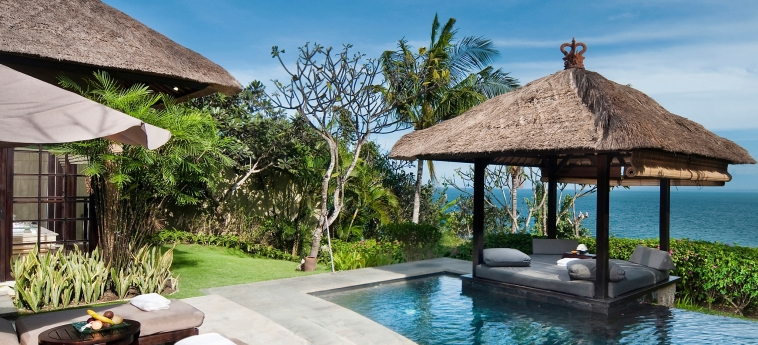 Hotel The Villas At Ayana Resort : Terrasse BALI