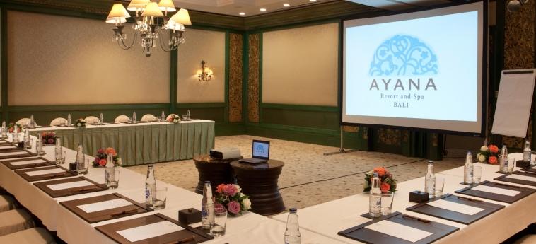 Hotel The Villas At Ayana Resort : Konferenzsaal BALI