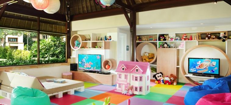 Hotel The Villas At Ayana Resort : Spielzimmer BALI