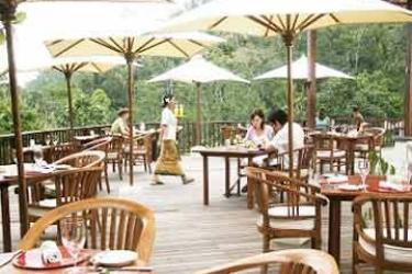 Hotel Ubud Hanging Gardens: Außen Restaurant BALI