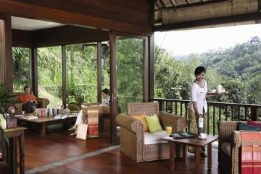Hotel Ubud Hanging Gardens: Lobby BALI