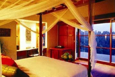 Hotel Ubud Hanging Gardens: Schlafzimmer BALI