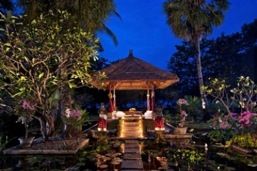 Hotel Matahari Beach Resort & Spa: Gazebo BALI